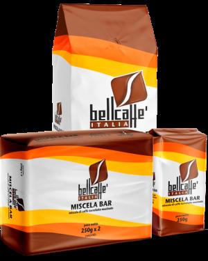 miscelabar_1kg_composizione - Bell caffè Italia